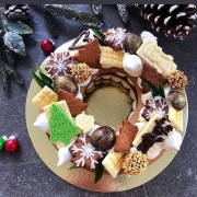 """Торт-венок """"Новогодний"""""""