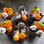 """Десерт """"Halloween"""" в стакане."""