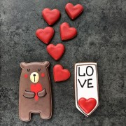 Влюбленный мишка